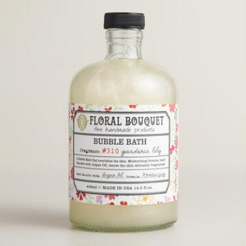 Floral Bouquet Gardenia Lily Bubble Bath